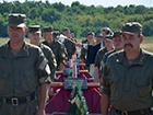 Біля Запоріжжя поховали 57 невідомих бійців, які загинули переважно під Іловайськом