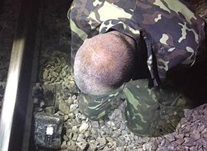 На Харківщині намагалися підірвати залізничну колію - фото