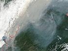 NASA показала як з космосу виглядає масштабна пожежа в Сибіру
