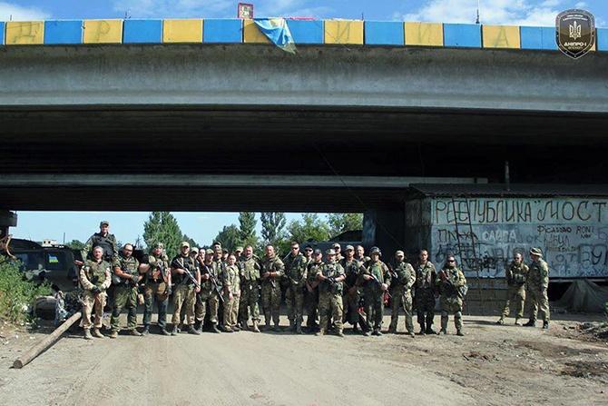 Полк «Дніпро-1» вивели з Пісків - фото