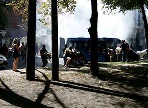 В Харкові ледь не розтрощили офіс сепаратистів - фото