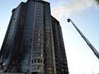 В Одесі горіла 24-поверхівка, постраждали рятувальники