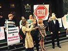 Під ГПУ відбувся мітинг зі звинуваченням Шокіна в брехні