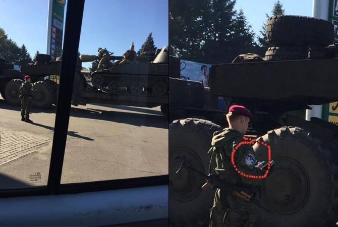 Міліція з шевронами «Беркута» «геройствує» за 100 км від передової - фото