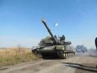 Перший етап відвєведення танків на Луганщині завершено, - штаб АТО
