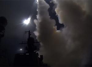 Росія обстріляла Сирію з моря [відео] - фото
