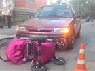 У Вінниці жінка-водій наїхала на дві коляски з немовлятами