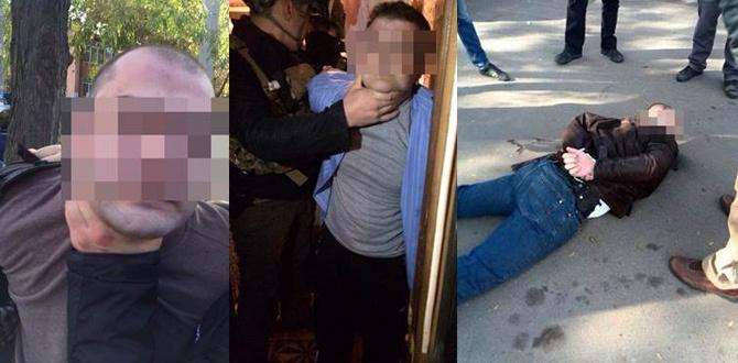 Затримано трьох підозрюваних у вибуху біля будівлі Одеського СБУ - фото