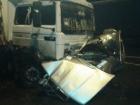 На Рівненщині вантажівка зім'яла легкову машину, загинули троє