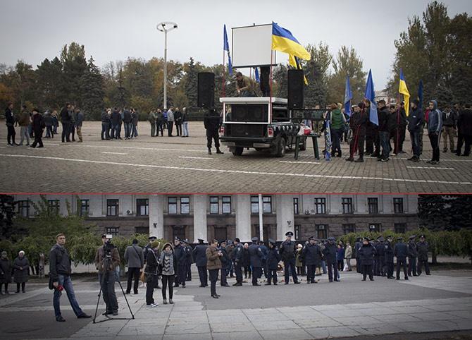 В Одесі на Куликовому полі мало не сталася бійка - фото
