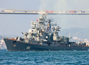 Російський військовий катер обстріляв турецький сейнер в Егейському морі - фото