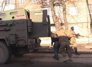СБУ провела в Красногорівці масштабну спецоперацію [відео] - фото