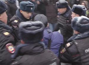 В Москві на День Конституції розігнали «Марш змін» - фото