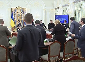 Відео конфлікту Саакашвілі і Авакова на Нацраді реформ - фото