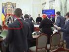 Відео конфлікту Саакашвілі і Авакова на Нацраді реформ