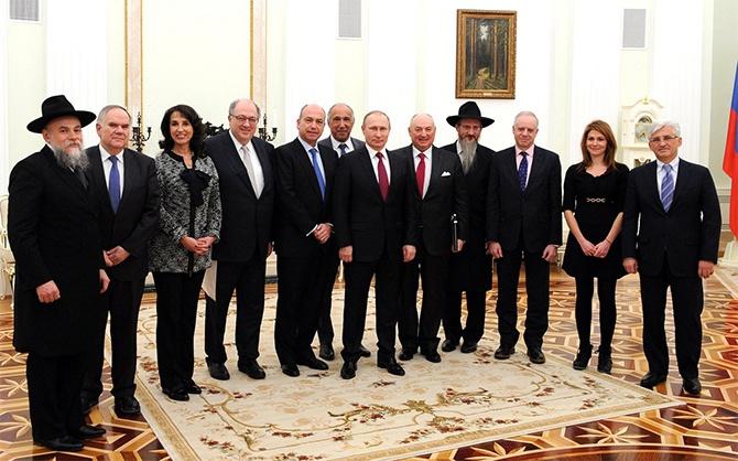 Путін закликав євреїв повертатися з Європи до Росії - фото
