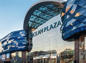У Києві горів ТРЦ «Ocean Plaza» - фото
