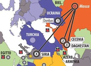 В Італіі на мапі до РФ домалювали Крим - фото