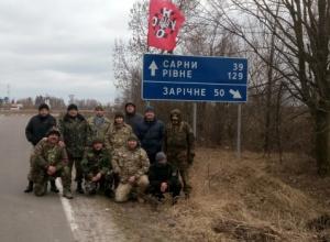До блокування російських фур приєдналася Рівненщина - фото