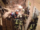 На Богдана Хмельницького обвалився будинок, під завалами опинилися люди