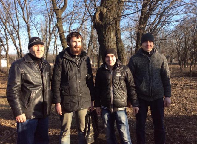 З полону звільнено чотирьох українських військових - фото