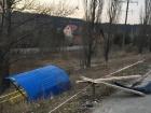 """У Києві """"Лексус"""" в′їхав у зупинку, є жертви"""