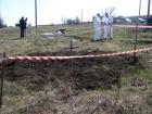 На Донеччині знайдено масове поховання бойовиків