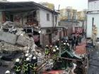В Подільському районі вибух зруйнував 5 гаражів, загинула людина