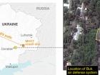 Показано супутниковий знімок із ЗРК «Бук», зроблений за кілька годин до авіакатастрофи MH17