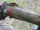 Російський вогнемет, захоплений на Донбасі