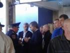 В Одеському аеропорту заблокували Новинського та Бойка