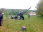 На Хмельниччині впав вертоліт (фото)
