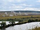 «Народна міліція ЛНР» вчилась форсувати водні перешкоди (фото)