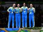 Шаблістки принесли України срібло на Олімпіаді в Ріо