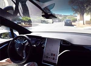 Всі свої автомобілі Tesla Motors відтепер обладнує повністю автономним автопілотом - фото