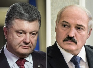 Порошенко вибачився перед Лукашенком за інцидент з літаком «Бєлавіа» - фото