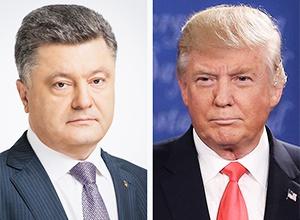 Порошенко закликав Трампа до підтримки у протидії російській агресії - фото