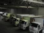 Чергова колона вантажівок вторглася з Росії в Україну