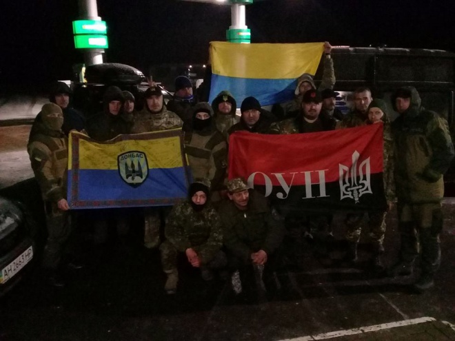 «Блокада Донбасу»: встановлено ще один редут, на Маріупольському напрямку - фото