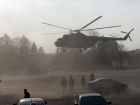 Генерал ефектно покинув урочистості з центральної площі Чернігова – на вертольоті