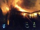 На Райдужному внаслідок пожежі в бані постраждала людина