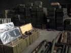 На Запоріжжі виявили величезний арсенал зброї та боєприпасів