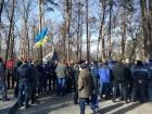 """Націоналісти не дали """"Українському вибору"""" покласти квіти до могили Шевченка"""