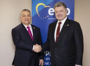 Порошенко звернув увагу Орбана на висловлювання угорських чиновників про автономію в Україні - фото