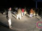 Сталися сутички між поліцією та «блокадниками», які прямували на підкріплення до Бахмута