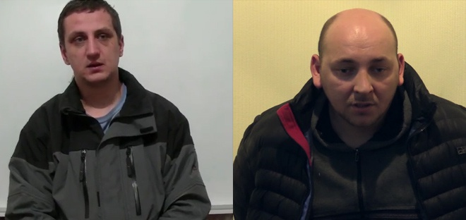 Терористи показали захоплених місяць тому в полон українських розвідників - фото