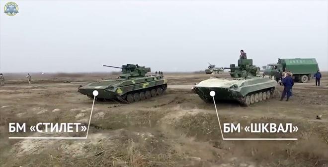 Відбулися вогневі випробування бойових модулів «Шквал» та «Стілет» - фото