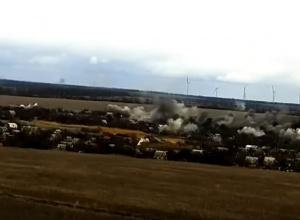 Відео обстрілу житлових будинків Водяного - фото