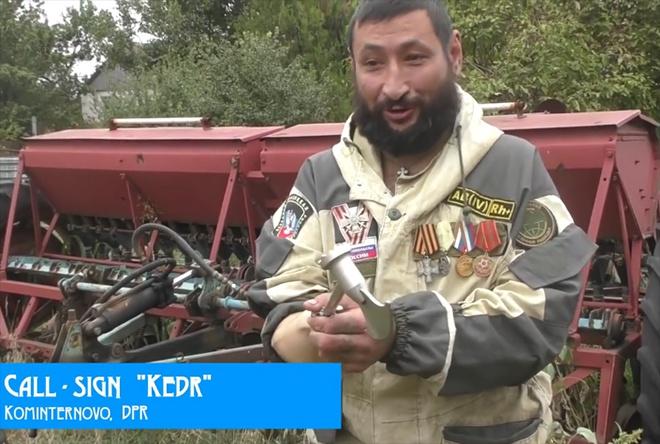 Загиблого в бою бойовика окупанти видають за мирного мешканця, начебто загиблого внаслідок обстрілу зі сторони ЗСУ - фото