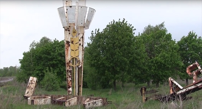 Бойовики обстріляли місто Попасна (відео) - фото